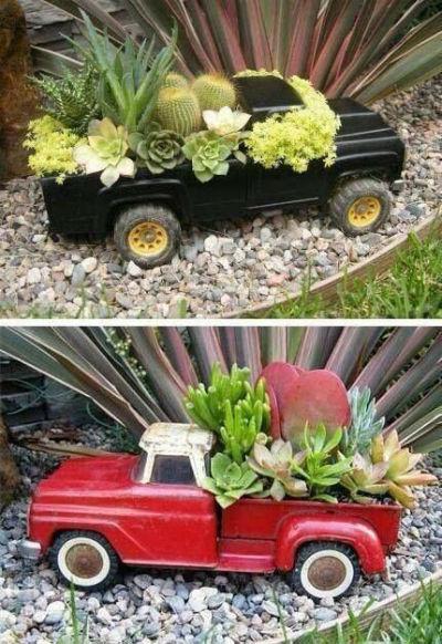 arredo giardino riciclo