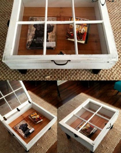 finestra esempio arredo riciclo