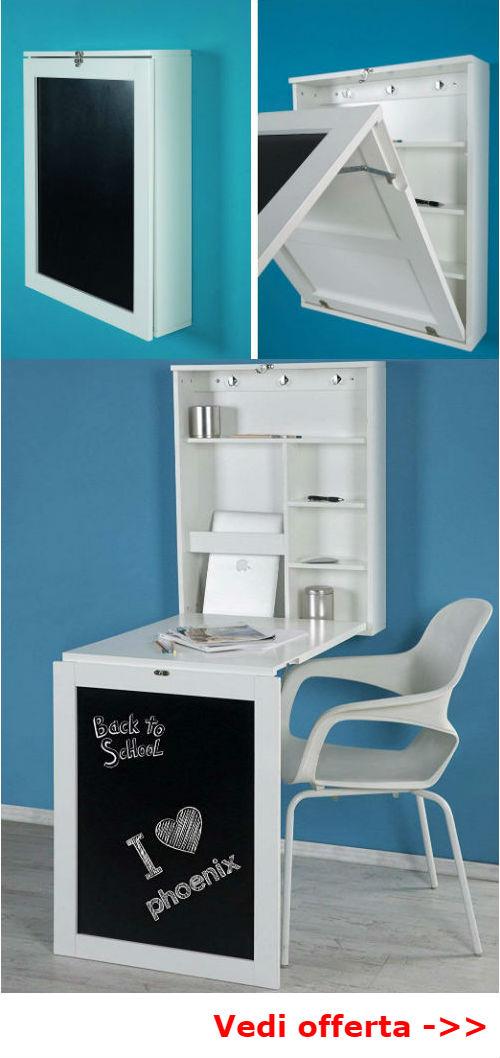 scrivania per piccoli spazi