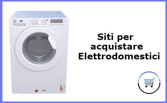 elettrodomestici online