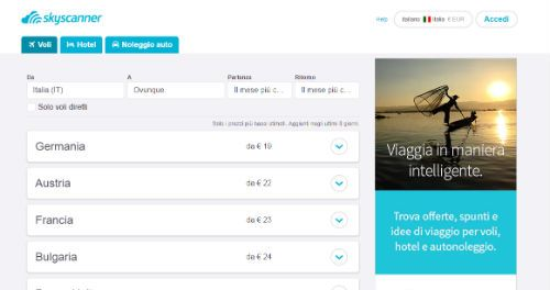 sito skyscanner
