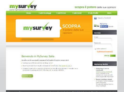 sito sondaggi online