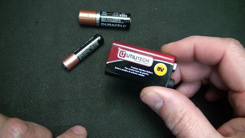 sostituire batterie telecomando