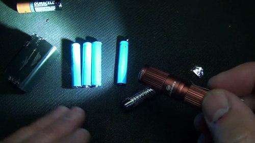 torcia elettrica batterie
