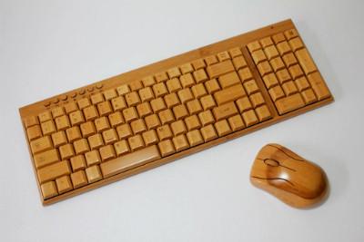 tastiera pc legno regalo