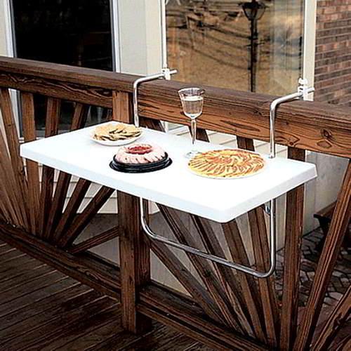tavolino balcone pranzare