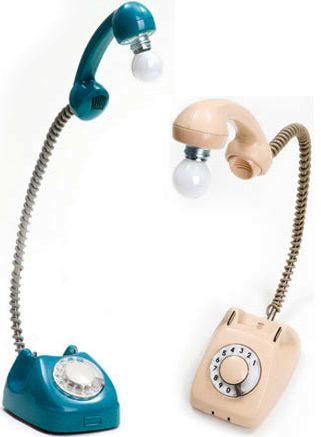 telefono di casa lampada design