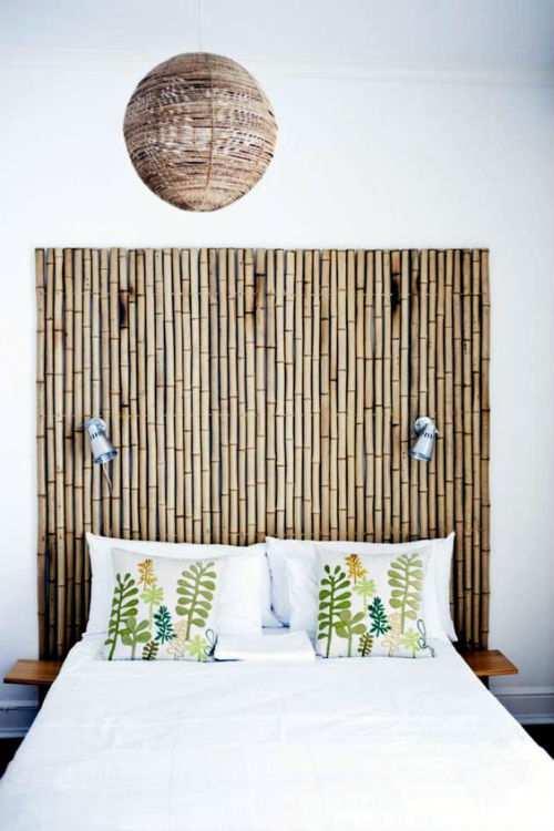12 idee per creare in casa una testiera del letto fai da te - Testiera letto singolo fai da te ...
