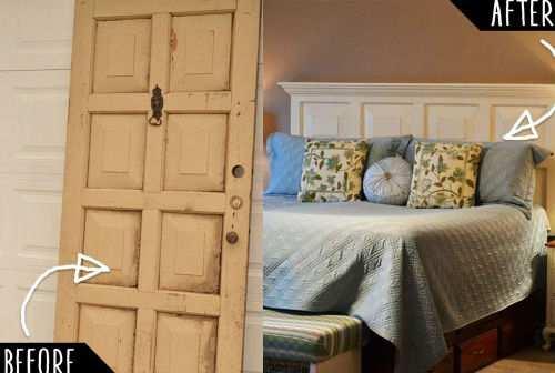 12 idee per creare in casa una testiera del letto fai da te for Idea testiera letto