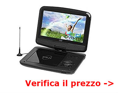 tv in auto dvd usb lettore