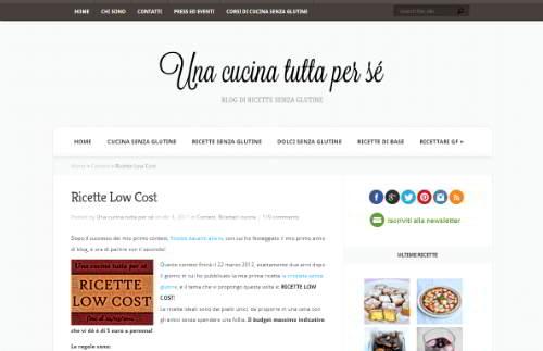 blog una cucina tutta per sè