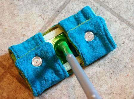 vecchio asciugamano panno pavimento
