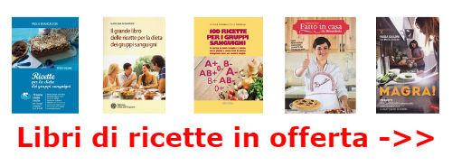 vendita libri ricette