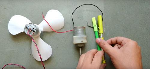 costruire un ventilatore in casa