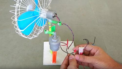 ventilatore come costruirlo