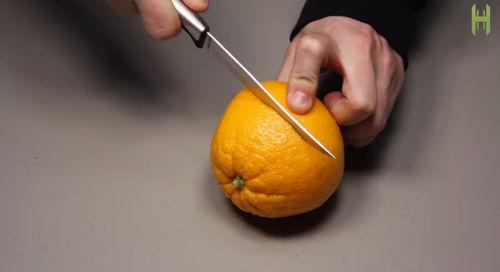lampada olio arancia