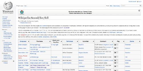 wikipedia musica classica mp3 gratis